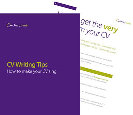 Download our CV Writing Tips.