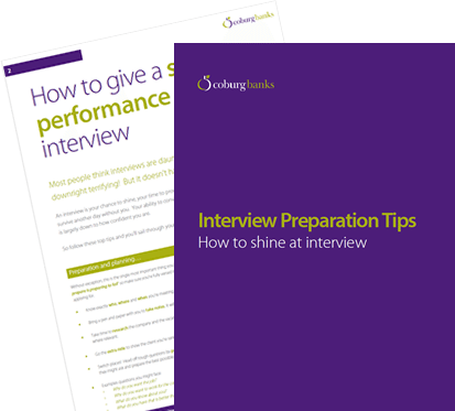 Interview preparation tips.