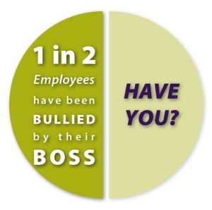 half of employees have been bullied by their bosses