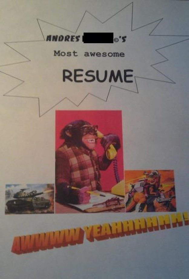 8 Of The Craziest Job Applications You're Ever Likely To See