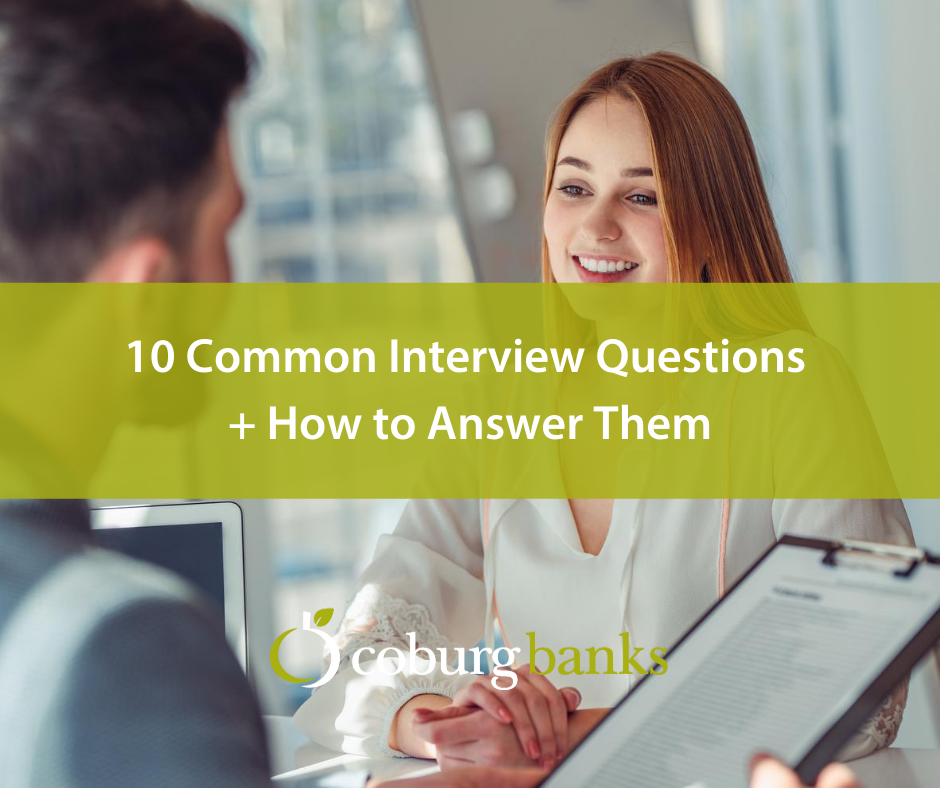 10 Common Interview Questions & How to Answer Them