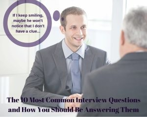 man looking confused with a speech bubble saying If I keep smiling maybe he won't notice