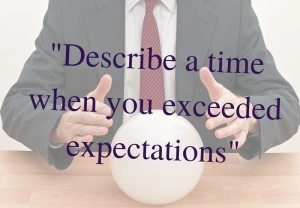 crystal ball with question - describe a time when you missed a deadline