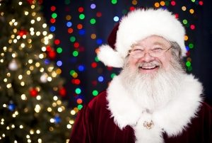 jolly smiling santa