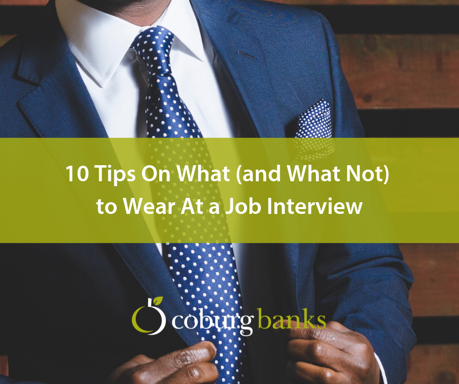 10 Tips On What (and What Not) to Wear At a Job Interview