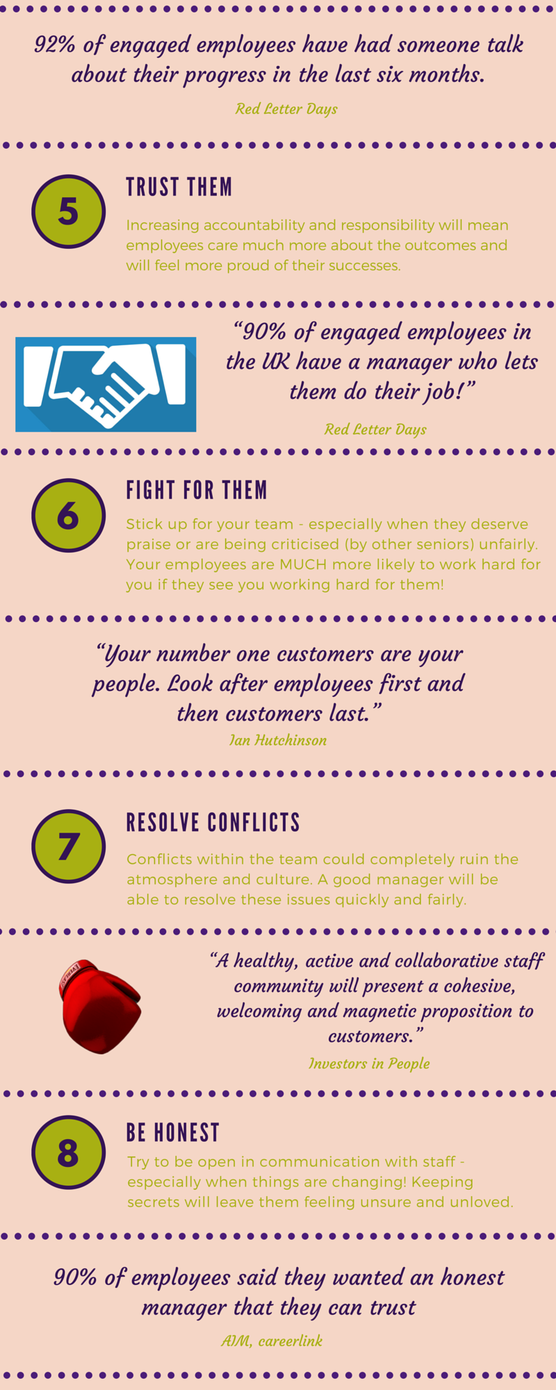 engage your employees infographic