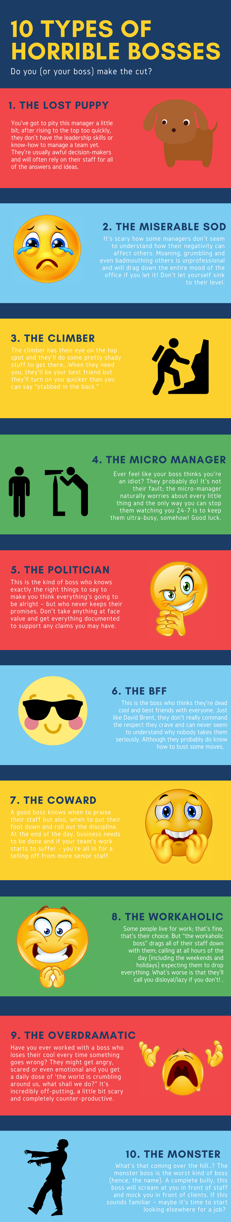 horrible bosses infographic