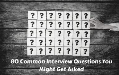 80 Common Interview Questions You Might Get Asked