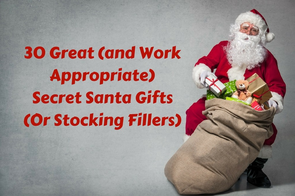30 Amazing and Work Appropriate Secret Santa Gifts (Or Stocking Fillers)