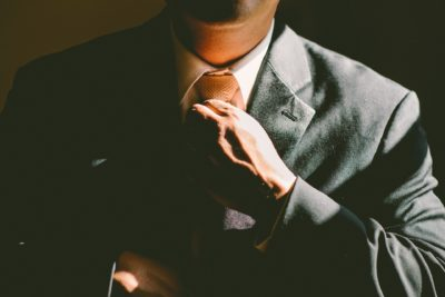 Man in suit (Cover Letter)