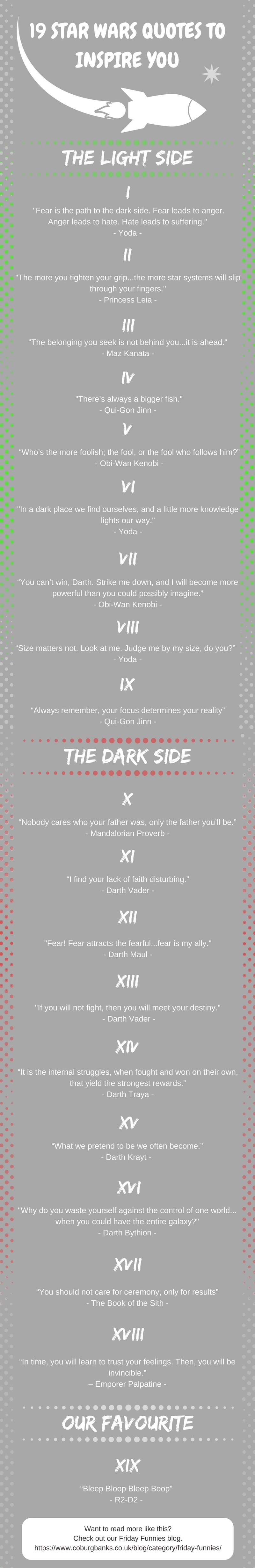 19 Star Wars Quotes to Inspire You