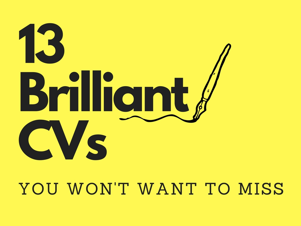 13 brilliant cv s you won t want to miss