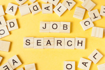 9 Important Job Search Tips: Scrabble letters