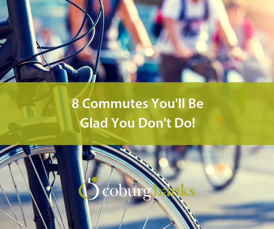8 Commutes You'll Be Glad You Don't Do!