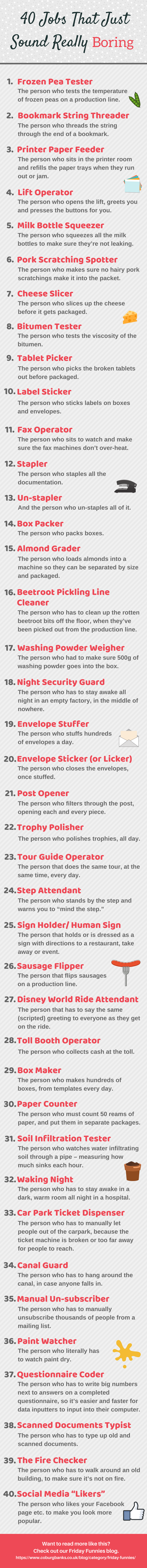 40 Jobs That Just Sound Really Boring