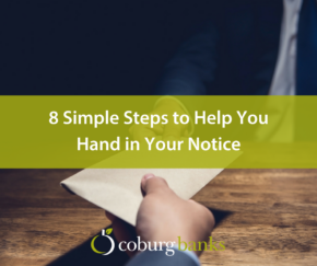 8 Simple Steps to Help You Hand in Your Notice [Slideshare]