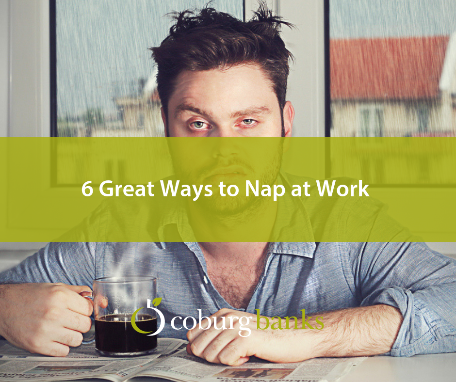 6 Great Ways to Nap at Work