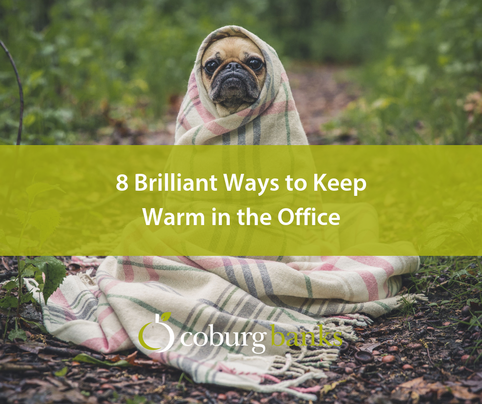 8 Brilliant Ways to Keep Warm in the Office