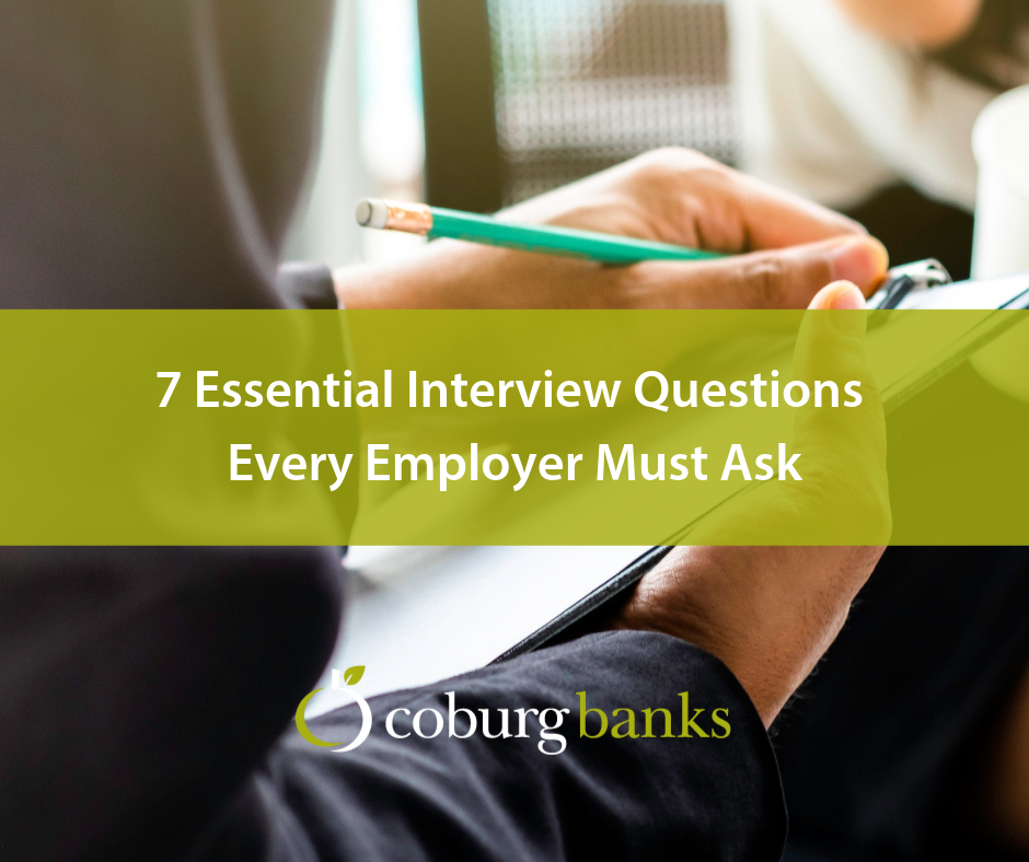 7 Essential Interview Questions Every Employer Must Ask