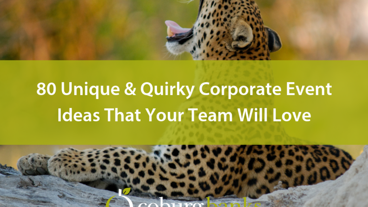 80 Unique And Quirky Corporate Event Ideas That Your Team Will Love