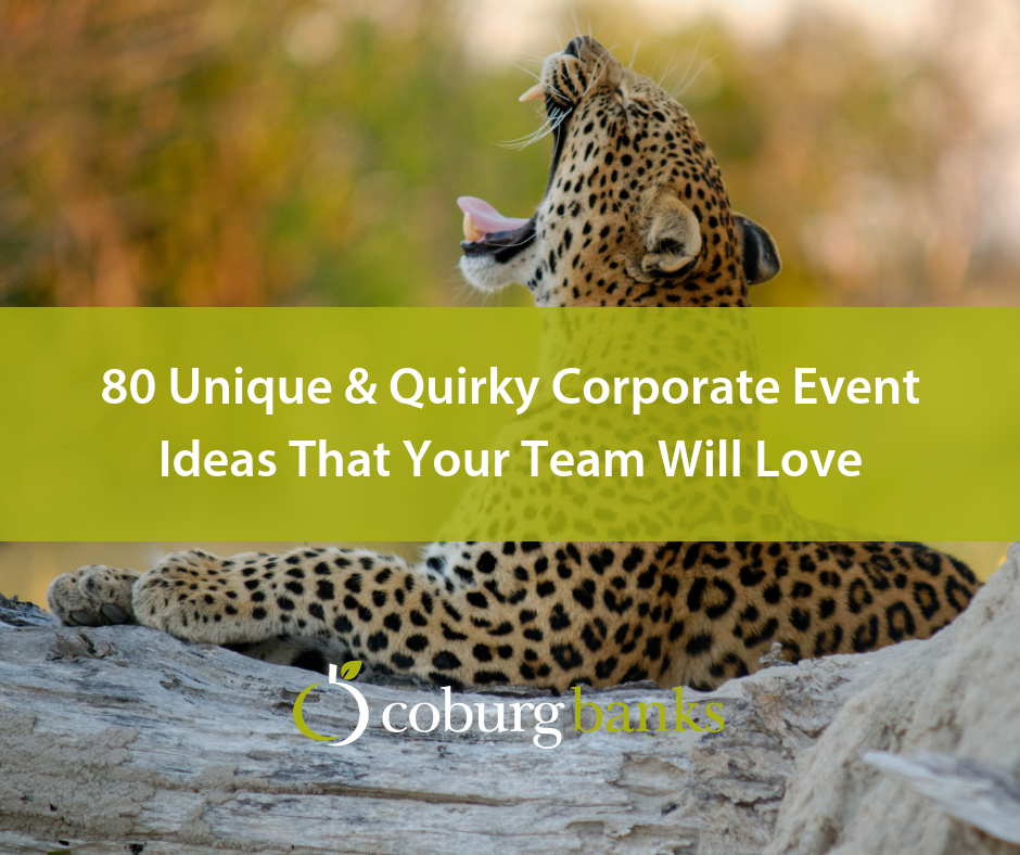 80 Unique & Quirky Corporate Event Ideas That Your Team Will Love