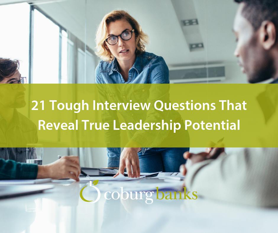 21 Interview Questions That Assess Leadership Potential