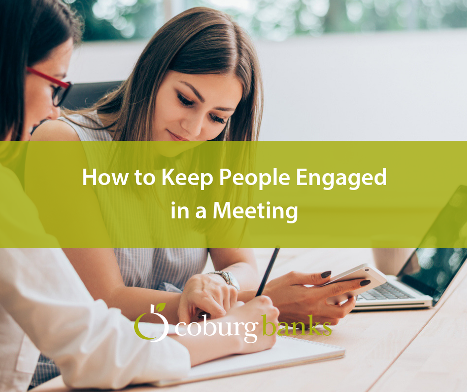 How to Keep People Engaged in a Meeting