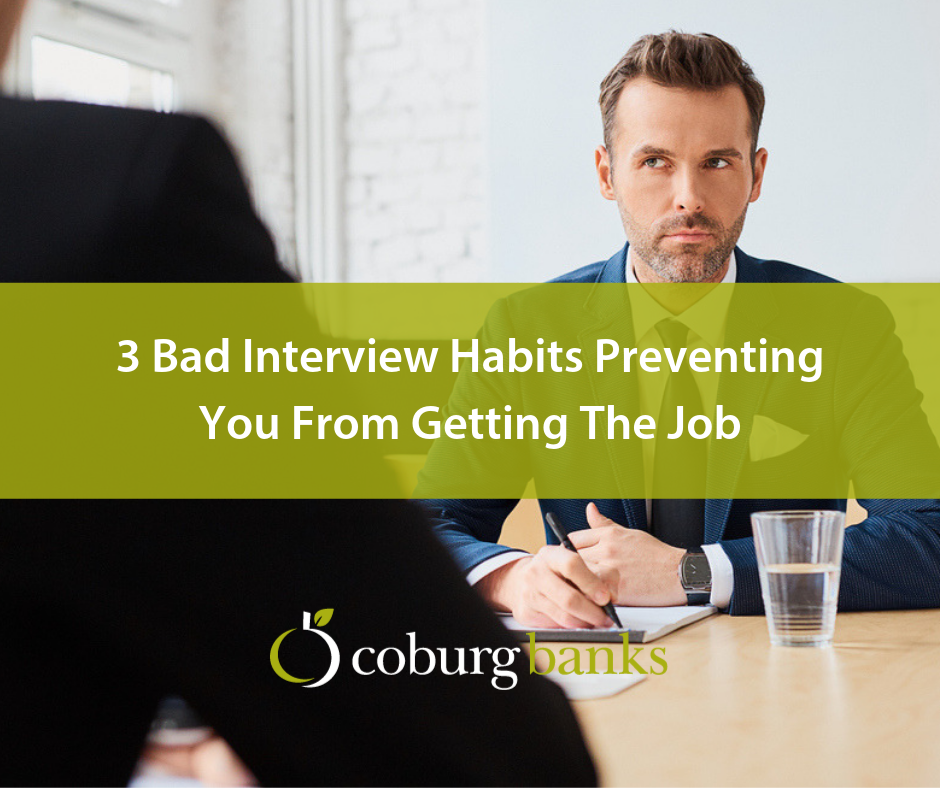 3 Bad Interview Habits Preventing You From Getting The Job