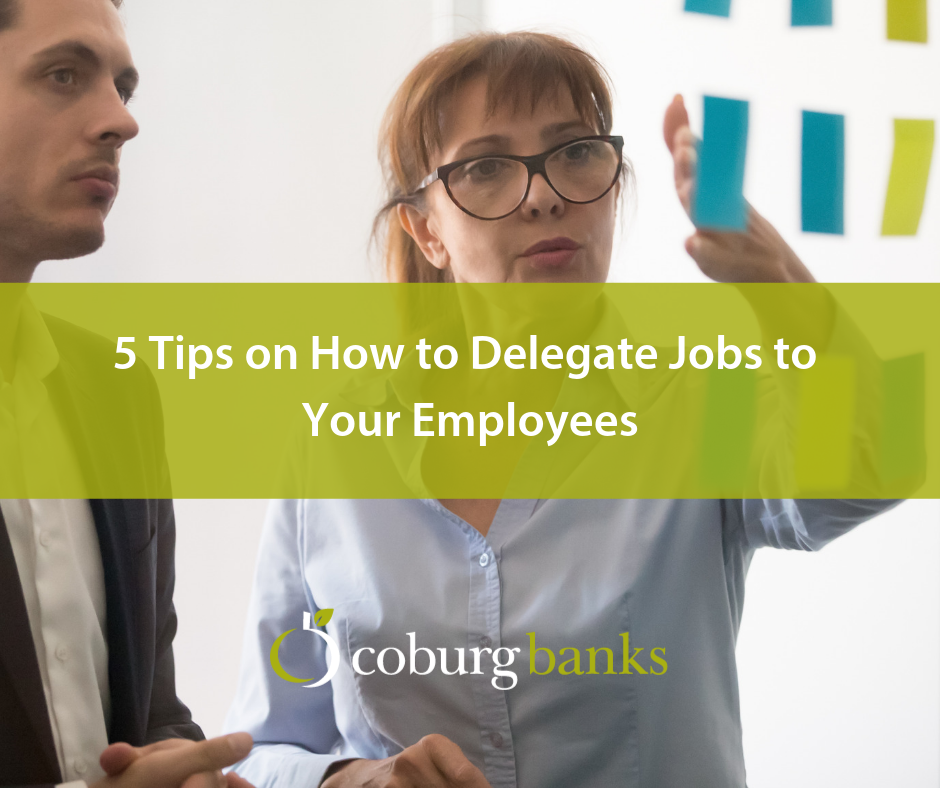 5 Tips on How to Delegate Jobs to Your Employees