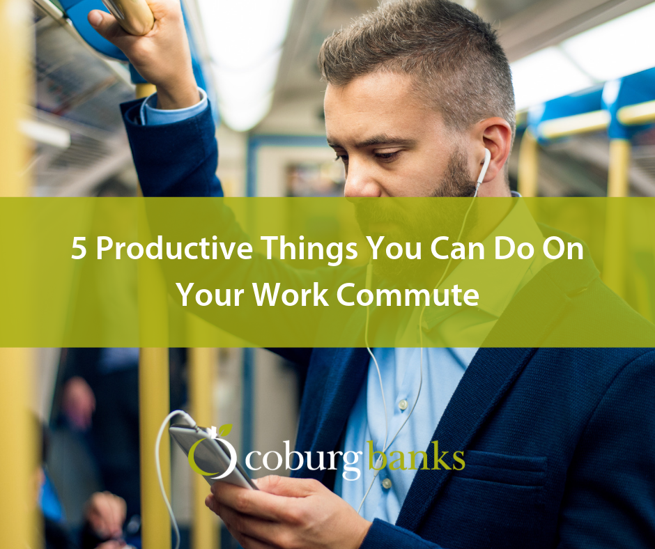 5 Productive Things You Can Do On Your Work Commute