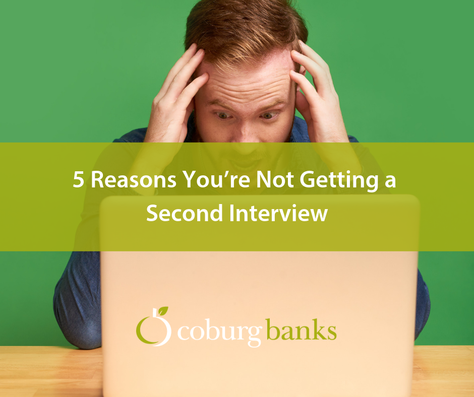 5 Reasons You're Not Getting a Second Interview