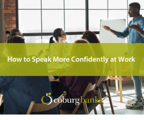 How to speak confidently at work