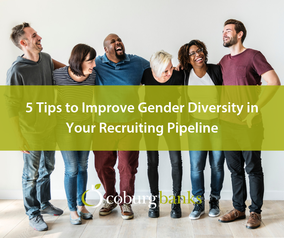 5 Tips to Improve Gender Diversity in Your Recruiting Pipeline