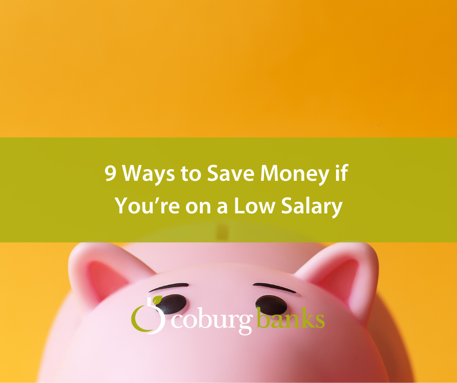 9 Ways to Save Money if You're on a Low Salary