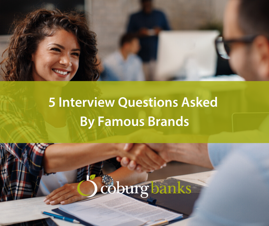 5 Interview Questions Asked By Famous Brands
