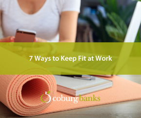 7 Ways to Keep Fit at Work