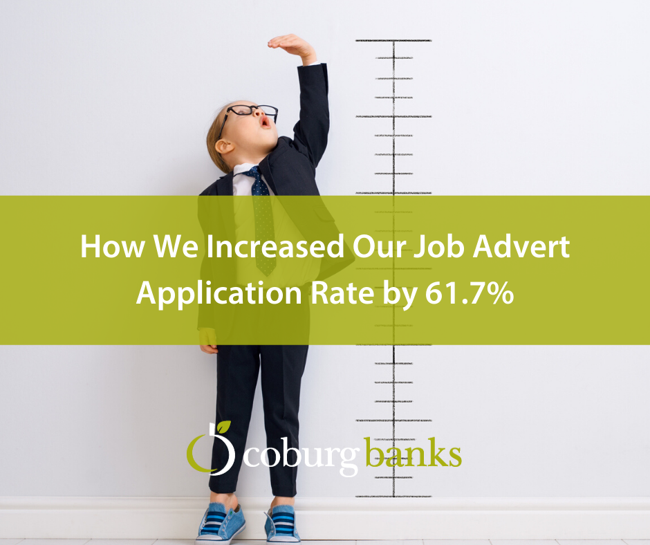 How We Increased Our Job Advert Application Rate by 61.7%